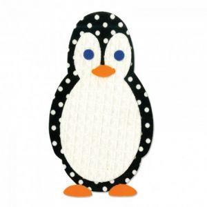 Fustella scrapbooking - Sizzix Bigz Die - Pinguino - art. 659147 - Sizzix