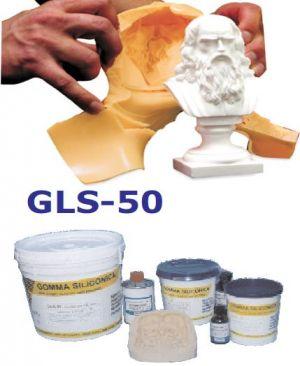 Gomma siliconica GLS-50 1kg per costruire stampi a pozzo Prochima