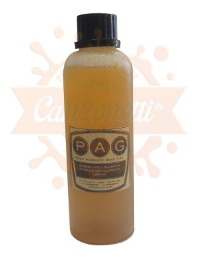 Gomma Lacca Decerata in Soluzione Alcolica - 250 ml - art. GLDE250 - P.A.G.