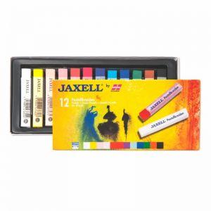 JAXELL Gessetti Pastello per artisti - 12 Colori - art. 47650