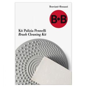 Kit Pulizia Pennelli - 1 Tappetino in Gomma + 1 Mini Sapone Vegetale - art. 26721 - Borciani e Bonazzi