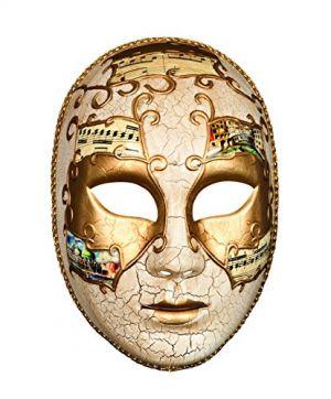 Maschera Veneziana Decorata per il Viso - Donna - Carnevale