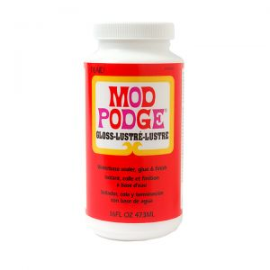 MOD PODGE - Gloss - Colla - Finitura - Sigillante - a Base d'Acqua - 473 ml - art. CS11202 - Plaid