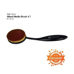 Mixed Media Brush #1 - Pennello per Sfumature - art. NMMB007 - Nellie's Choice