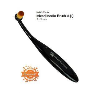 Mixed Media Brush #10 - Pennello per Sfumature - art. NMMB002 - Nellie's Choice
