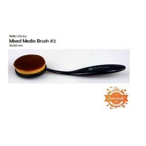 Mixed Media Brush #2 - Pennello per Sfumature - art. NMMB006 - Nellie's Choice