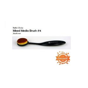 Mixed Media Brush #4 - Pennello per Sfumature - art. NMMB004 - Nellie's Choice
