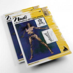 Collana Leonardo - Album N. 10 - Nudi - Struttura del Corpo Umano - art. Album10 - Maimeri