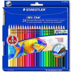 Pastelli colorati acquerellabili Noris Club® aquarell 24 staedtler