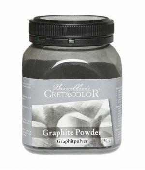 Polvere di Grafite - Pigmento - Graphite Powder - Barattolo 150 g - art. 150 80 - Cretacolor