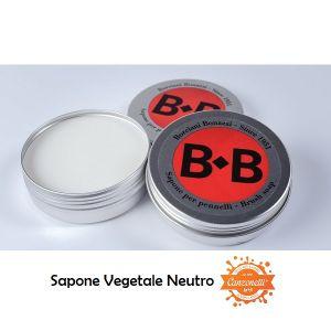Sapone Vegetale per Pulizia Pennelli - Neutro - 100 gr - Borciani e Bonazzi