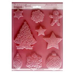 Stampi NATALE A4 in pvc flessibile