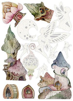 Sweet Wood - Le fate - Sagome in Cartone Vegetale - art. LESWA4002 - Renkalik