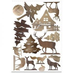 Sweet Wood - Natura - Sagome di Cartone Vegetale A4 - art. LESWA4003 - Renkalik