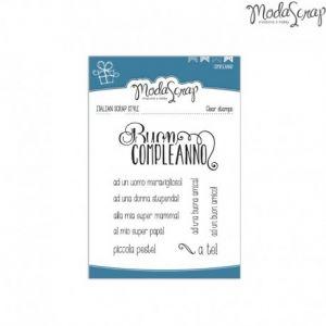 Timbro Modascrap - clear stamps -