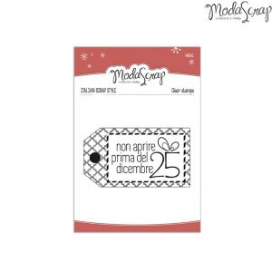 Timbro Natale - clear stamps -
